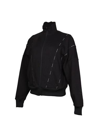 Hummel Kadın Zip Ceket Acton 920781-2001 Siyah